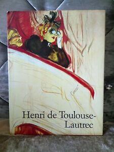 Toulouse-Lautrec 1864-1901 Vintage Book 1987.