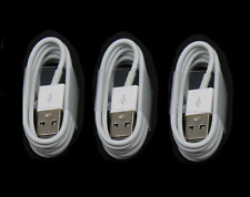 3x OEM Original Fast Charger Cable Charging Cord For iPhone 5 6 7 8 10 11 Max