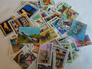 Collection lot 45 different Bhutan stamps