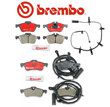 Front Brake Pads Rear Brake Pads Ceramic OEM Brembo + Sensor Mini Cooper R50 R52