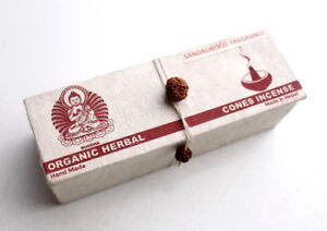 Sandalwood Fragrance Organic Cone Incense