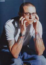 CHESTER BENNINGTON - A2 Poster (XL - 42 x 55 cm) - Linkin Park Clippings NEU