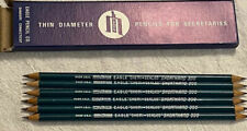 New ListingVintage Nos Eagle Chemical-Sealed Shorthand 300 Secretary Pencils (6) New In Box