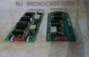 3x Lars Lumdahl LL1540 input transformers on PD9478 cards