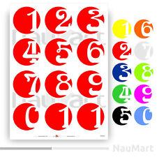 Número Pegatinas Set (ST642)