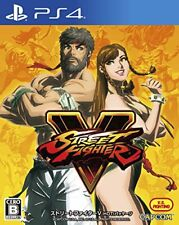 New PS4 Street Fighter V Hot Package Japan Import Official Free Shipping