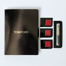Tom Ford The Perfect Accessory Lipstick Sample on Card 16 Scarlet Rouge 1g total
