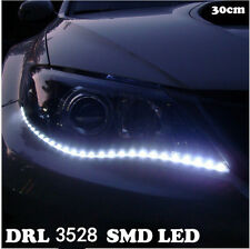 DRL 3528 SMD LED Daytime Running Lamp Car Waterproof Flexible White Head Lights
