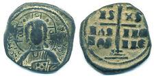 Class B anonymous follis of Romanus III (1028-1034 AD), Byzantine Empire