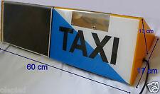 1 enseigne lumineuse de toit de TAXI plots magnétique 12v - idéal déco loft