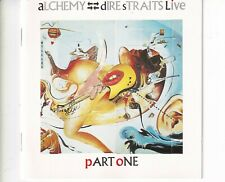 CD DIRE STRAITS	alchemy live - part one	WEST GERMANY EX  ORANGE LABEL	 (A5889)