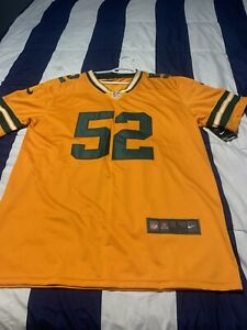 """L 22x32"""" Nike Clay Matthews Green Bay Packers #52 NFL Color Rush Elite Jersey"""