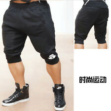 New Men's Gym Shorts Bodybuilding Training Running Shorts Workout Fitness Pants