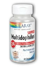 Multidophilus 24, Super 30 bil Solaray 60 VCaps