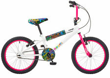 "B Grade Concept Graffiti 16"" Girls BMX Bike"