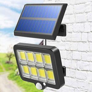 T-SUN Solar LED PIR Motion Sensor Wall Security Light Garden Outdoor w/ wires UK