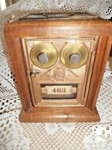 Authentic Post Office Box Bank US Post Office Lockbox w/ Combination