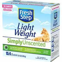 Fresh Step Lightweight Multi-Cat, Clumping Cat Litter, Unscented, 15.4 Pounds