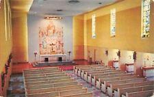 St Louis MO~Bellarmine House of Studies~Fusz Chapel~1956
