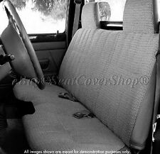 A27 Reg Cab Exact Fit DARK GRAY Seat Cover 10mm Triple Stitch for Toyota Tacoma