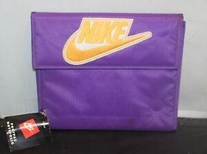 Vintage Nike LA Lakers Colors Mead Binder w/ Folders & Tags Rare Purple Gold
