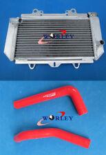 For Yamaha YFZ450 YFZ 450 Aluminum Radiator & red hose 2004 2005 2006 2007 2008