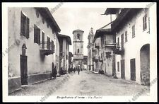 TORINO BORGOFRANCO D'IVREA 04 CANAVESE - Cartolina 1942 MA viaggiata 1954