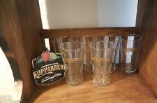 Kopparberg Cider Glasses,Quality, Hotel, Grade glassware (SET OF 6) (POT) 285 ML