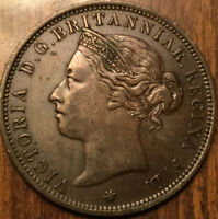 1894 VICTORIA STATES OF JERSEY 1/12 OF A SHILLING