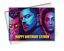 Personalised Preacher TV Show Birthday Card  - s2 A5 Large