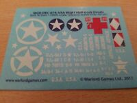 USA Decal Sheet #2 Bolt Action Warlord Games 28mm WW2