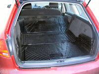 3pc modular rubber boot mat load liner bumper protector Seat Exeo ST estate 09+