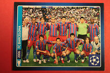 PANINI CHAMPIONS LEAGUE 2013/14 N 626 BARCELONA WINNERS BLACK BACK MINT!