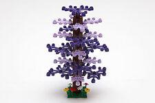 Lego Dark Purple and Lavender 15cm Tree Custom to suit City, Kingdom, Train
