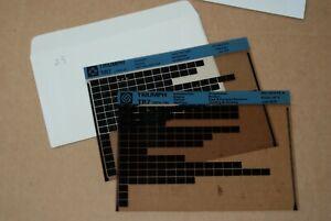 Triumph tr7  microfiche set of 2