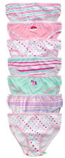 7 Pairs Girls Childs Briefs Knickers Pants 100 Cotton 7-8 Years
