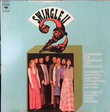 SWINGLE II LOVE SONGS FOR MADRIGALS & MADRIGUYS LP 1974 NM VINYL! PLAY GRADED