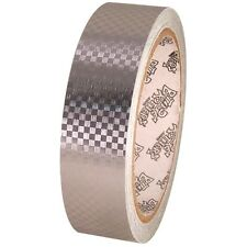 Tape Planet Silver Carbon Fiber 1 inch x 10  yards Metalized PVC Tape