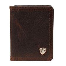 Ariat Men's Brown Rowdy Bifold Flipcase Wallet