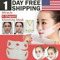 2019 Miracle V-Shaped Slimming Mask Face Care Slimming Masks (1/2/4 Pieces/Set)