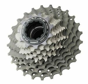 Shimano Dura Ace Cassette Cs 9000 11-fach 11-23/12-25 Teeth Road Bike New Boxed