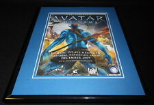 Avatar The Game 2009 Framed 11x14 ORIGINAL Vintage Advertisement