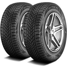 2 Tires Armstrong Ski Trac Pc 20560r16 92h Touring Studless Snow Winter Fits 20560r16