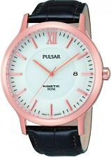 Pulsar by Seiko Men's Watch Kinetic par184x1 no battery needed WR 50
