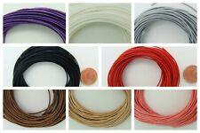 10 mètres fil polyester ciré 0,8mm écheveaux cordon lacet fin couleur au choix