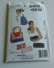 Piecing Four Corners Sewing Pattern Be-Bop Backpacks 8 Variations Patchwork