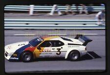 Jim Busby / Dennis Aase #3 BMW M1 - 1979 Road America 500 - Vintage Race Slide