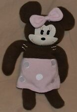 "14.5"" Vintage Minnie Mouse Plush Dolls Toys Stuffed Animals Old School Version"