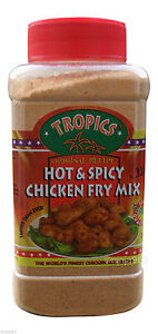 Tropics Kentucky Southern Fried Hot & Spicy Original Coating Chicken Fry Mix