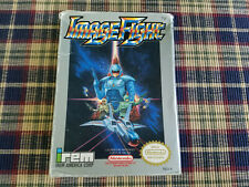 Image Fight - Nintendo - NES - Authentic - Box Only!  Oval Seal